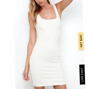 Like new ivory dress